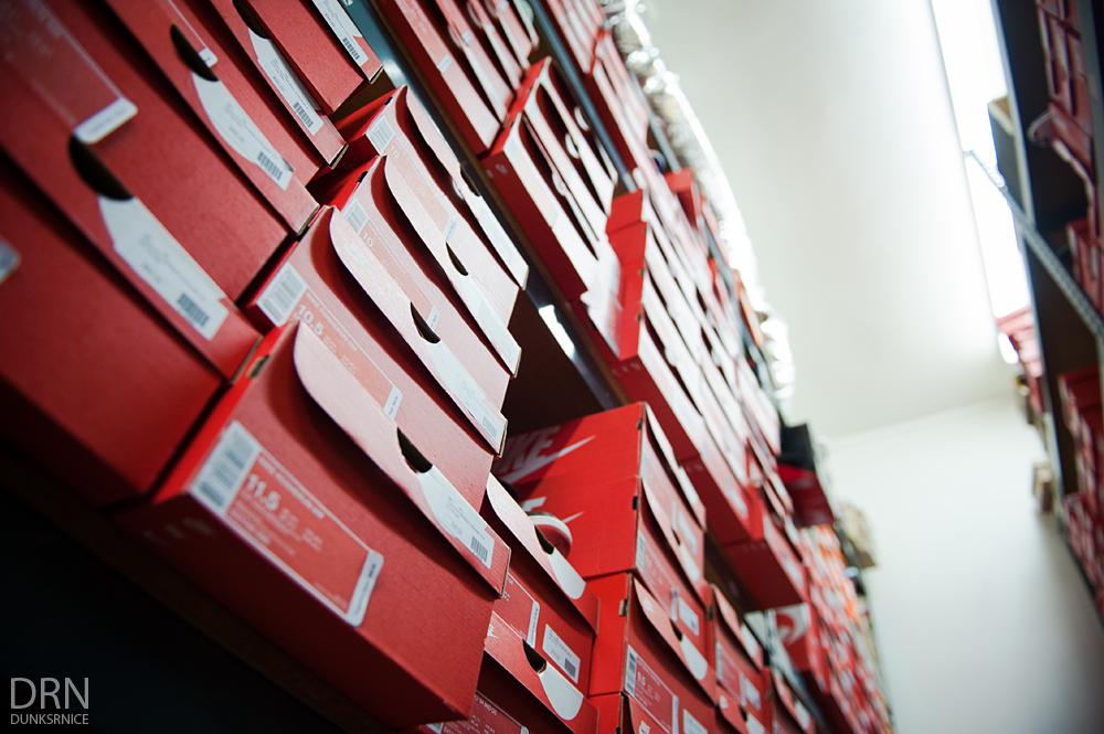 Shoe Boxes.
