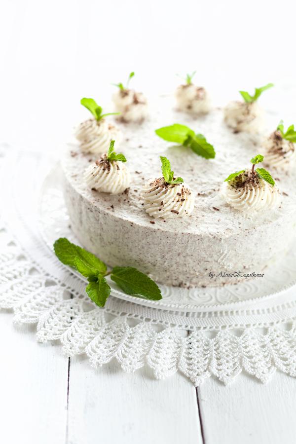 Mint&Yogurt Cake