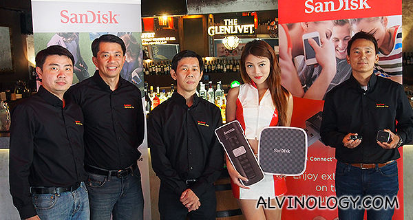 New Sandisk Connect Range of Wireless Flash Memory Storage Devices - Alvinology