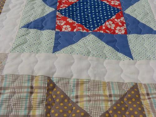 Seaside stars quilt