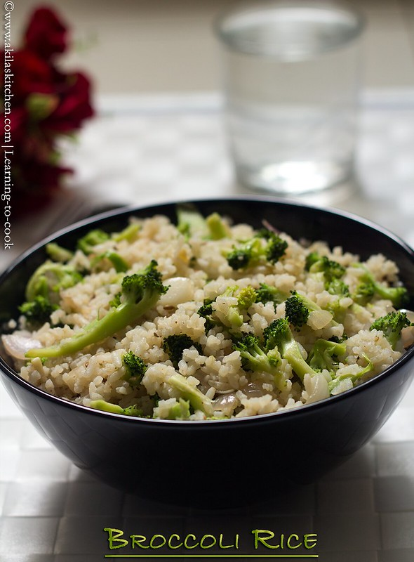 how to make broccoli rice