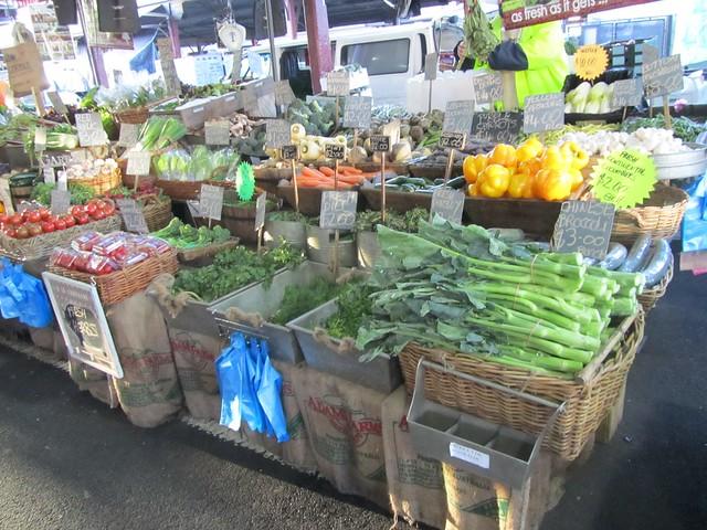 Verdura en Queen Victoria Market