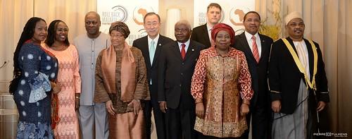 Fatoumata Nafo-Traoré at EU-Africa Summit 2014