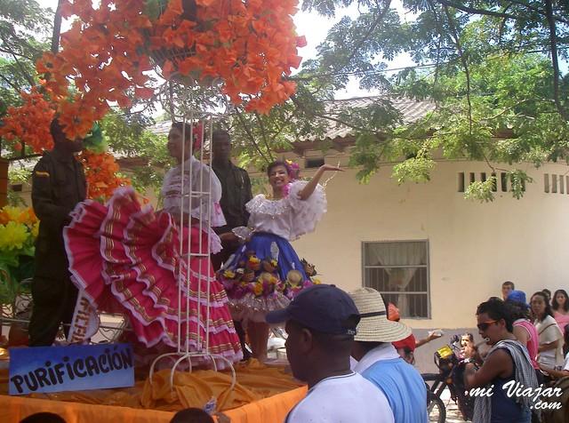 costumbres colombianas. Reinados Colombia