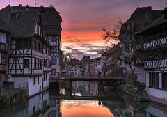 Strasbourg's Petit France at Sunset