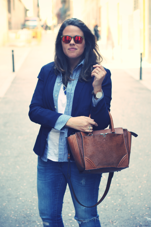 Look Spektre sunglasses + Daniel Wellington Watch