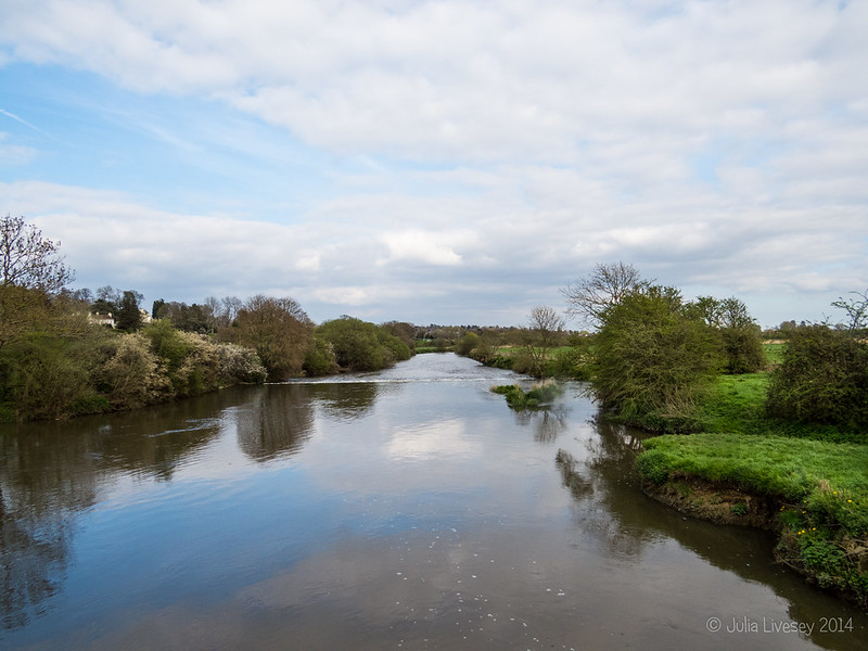 River Stour from Eye Bridge