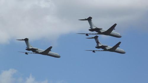 VC 10 flypast 29/8/12