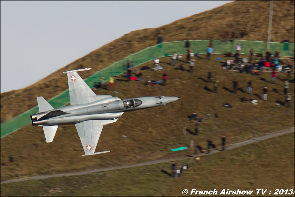 F-5 TigerII Exercices de tir d'aviation Axalp 2013