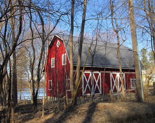 Winkler Mill Pond barn