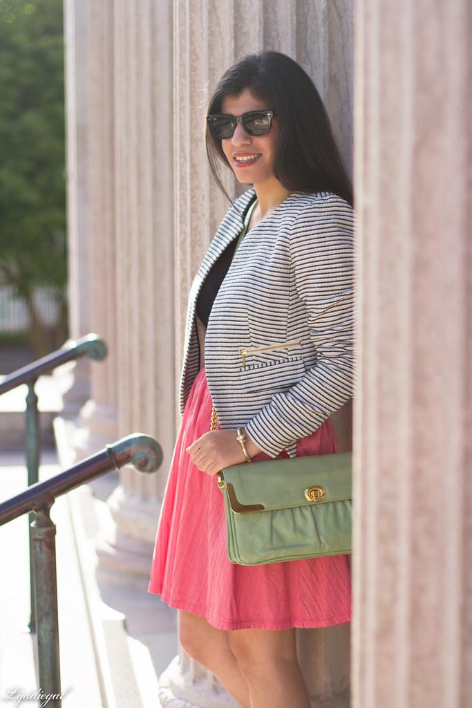 striped blazer, pink skirt, mint bag-5.jpg