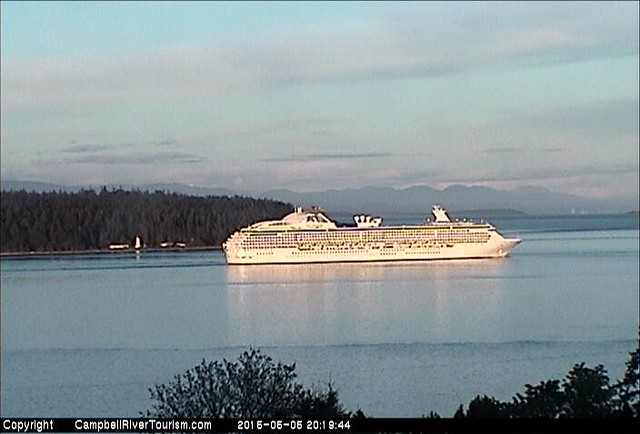 Campbell River Tourism Webcam Capture