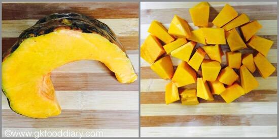 Pumpkin Kheer - step 1