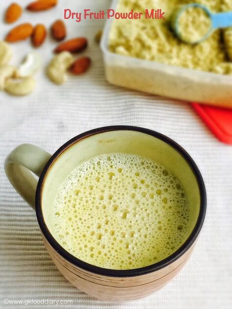 Dry Fruit Powder Milk 1