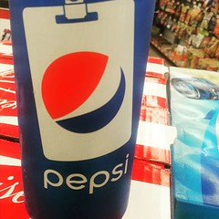 Did you know I collect #Pepsi cans and have over 400 from all over the world? This is my newest. :)