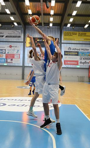 Grande Finale Fribourg Académie U16m -  Swiss Central Basket 6