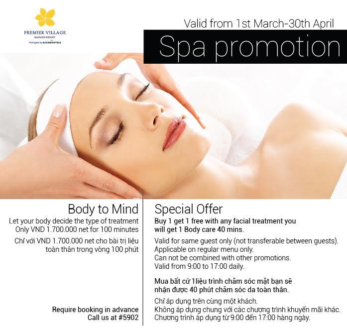 Premier Village Danang Resort - Spa Promotion