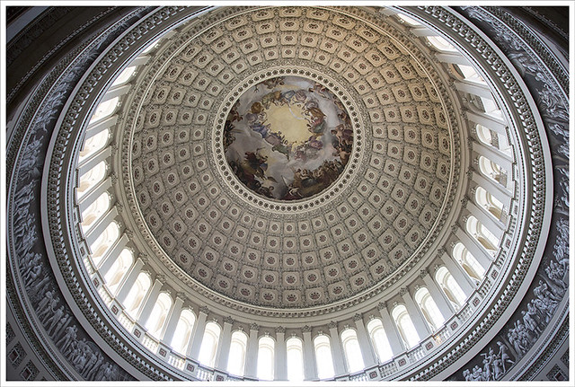 In The Capitol 5 (Apotheosis of Washington 2)