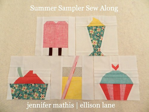 summer sampler blocks 1-5