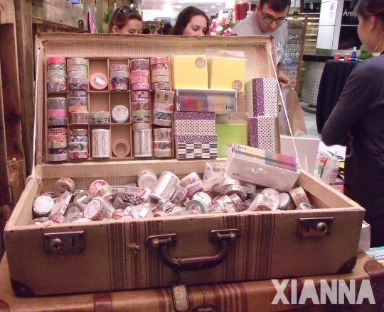 Washi tape en el stan de Mi Tienda de Arte