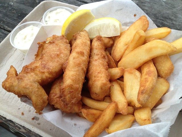 Fish and chips - Barbara's Fishtrap