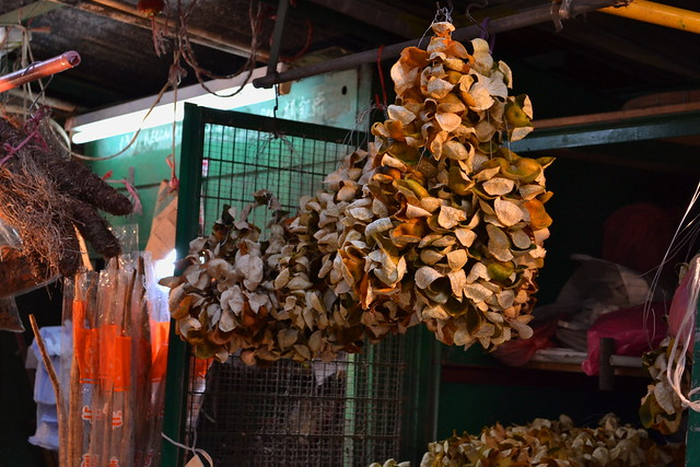 Dried tangerine peels