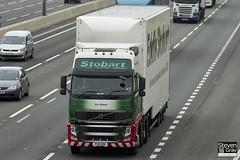 Volvo FH 6x2 Tractor - PX11 CDV - Ivy Grace - Eddie Stobart - M1 J10 Luton - Steven Gray - IMG_0582