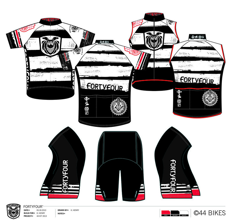 "44 Bikes 2013 ""Flow Team"" Kit : Order Yours Today!"