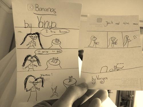 comics by vanya