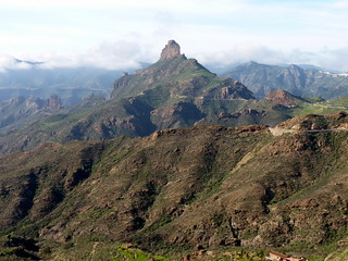 Gran Canaria - Roque Bentayga in den Winter