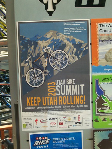 Poster, Annual Utah Bike Summit