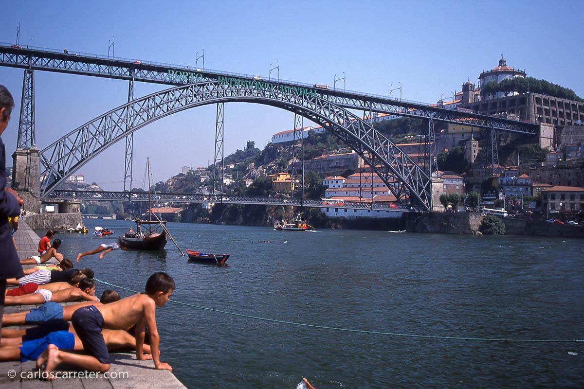 El Duero en Oporto
