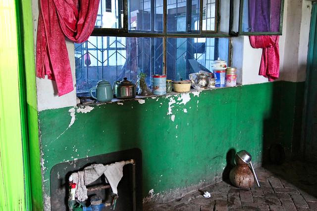 In a local house, suburb of Kumul (Hami) ハミ近郊の民家