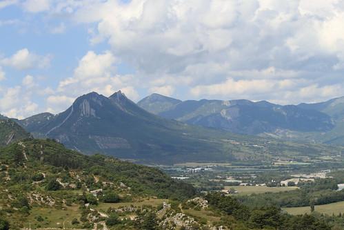 mountain france provence sisteron