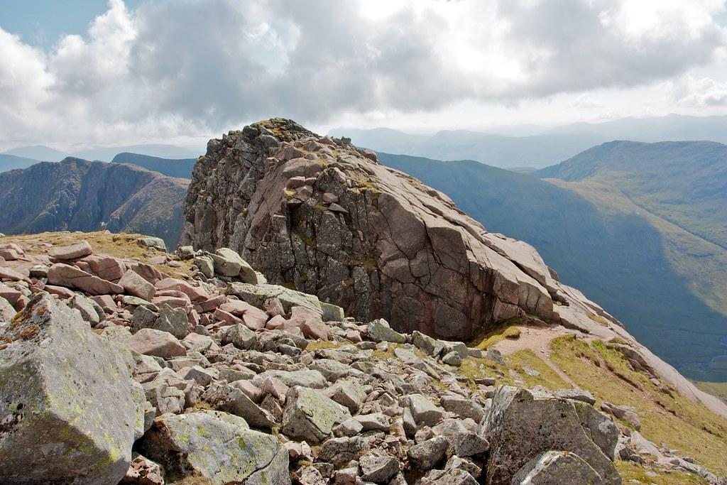Bad Step on Cruachan Ridge