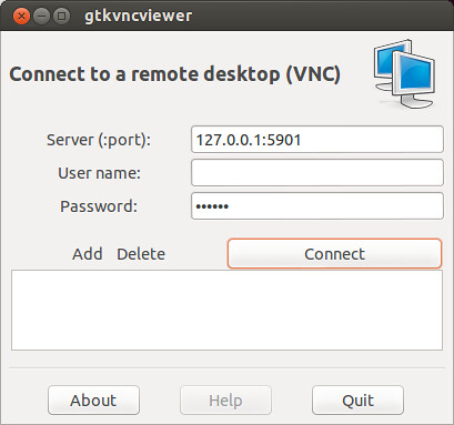 Vnc Connect Home Ubuntu