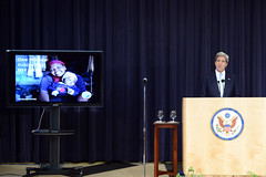 Secretary Kerry Hosts the PEPFAR 10th Anniversary Celebration