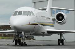 N855TJ. Lark Aviation LLC Dassault Falcon 2000EX.