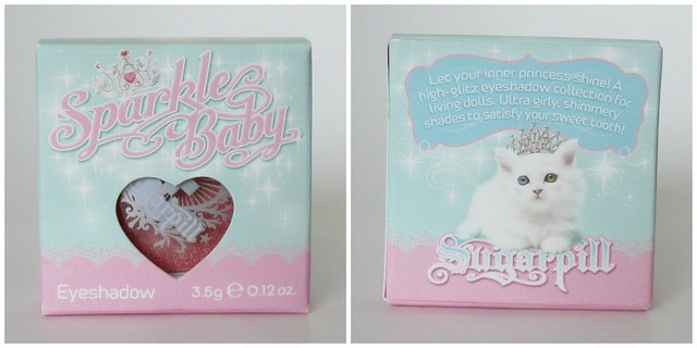 Sugarpill Sparkle Baby Packaging
