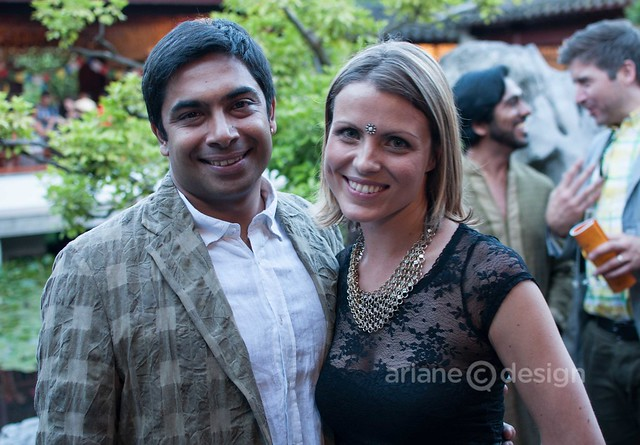 Festival Directors Sirish Rao and Laura Byspalko