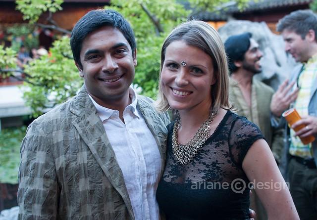 Festival Directors Sirish Rao and Laura Byspalko