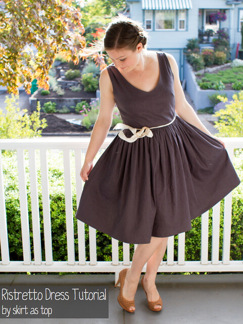 ristretto dress tutorial