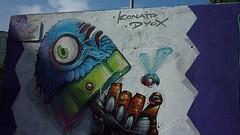 Mural de Konair y Dyox