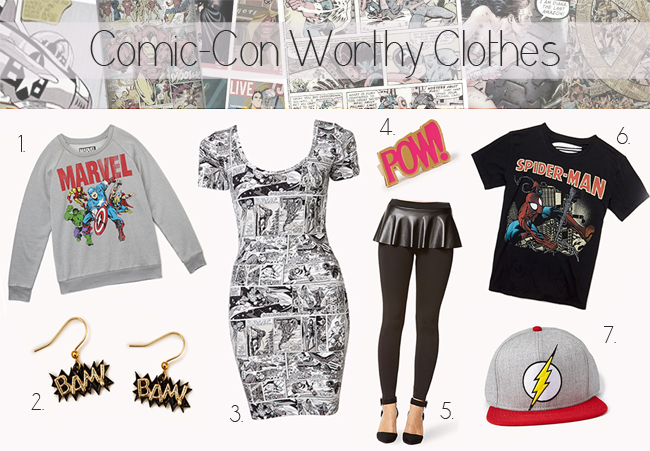 Forever21-comic-inspired-collection