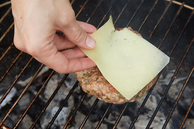 Suzanne Goin's Grilled Pork Burgers, from Food52