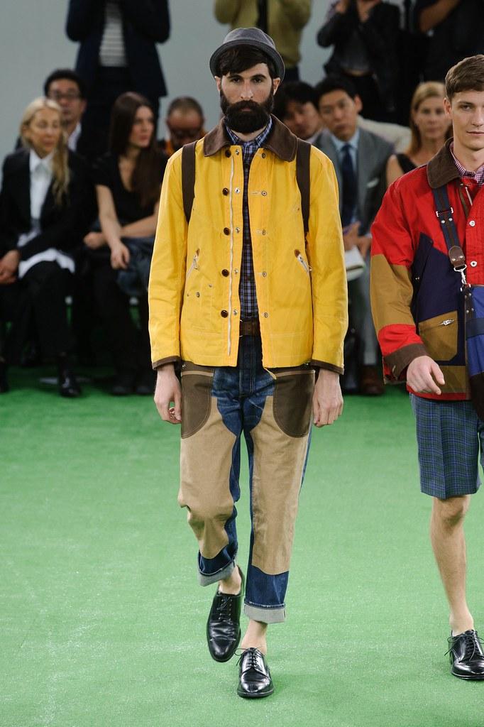 SS14 Paris Junya Watanabe027_Benjamin Dukhan(fashionising.com)