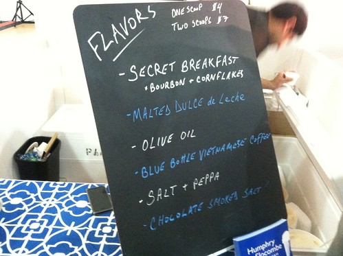 Humphry Slocombe Flavors