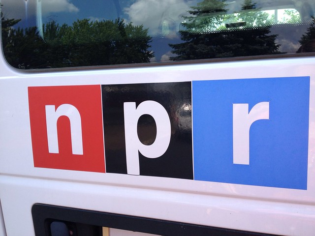 I was a guest on NPR!!!!