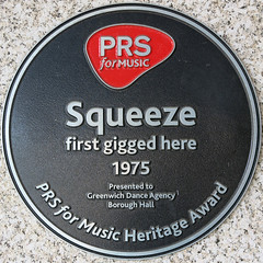 Photo of Squeeze black plaque