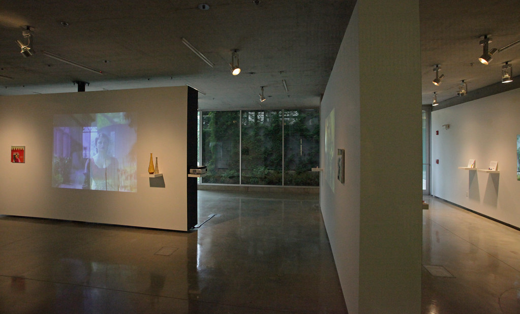 View of the exhibition Opa | City, in the Bibliowicz Family Gallery, Milstein Hall.